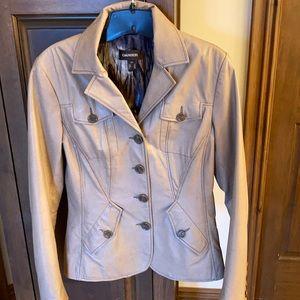 Beautiful Light Tan Leather Jacket Danier Size S